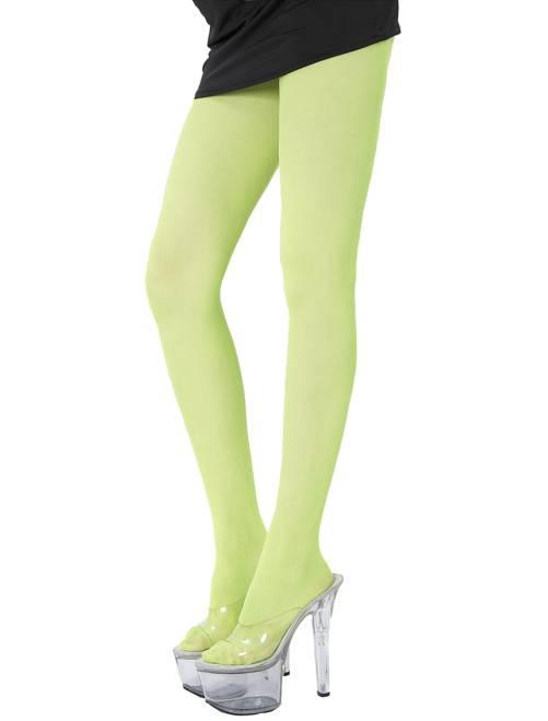 Paire de collants fluo 70D                                                                             vert