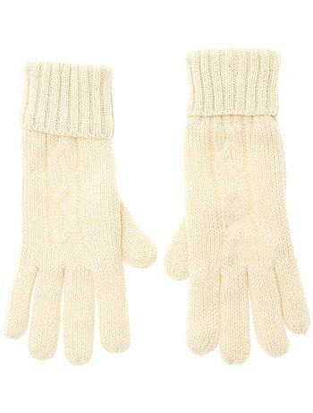 66127921a360 Echarpe, gants, bonnet Femme   beige   Kiabi