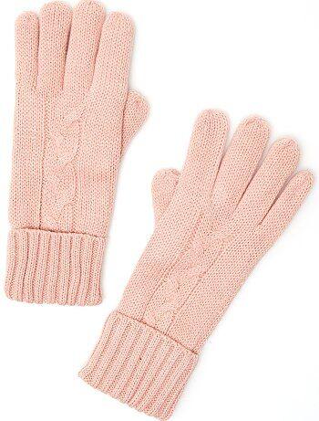 Paire de gants avec doublure polaire