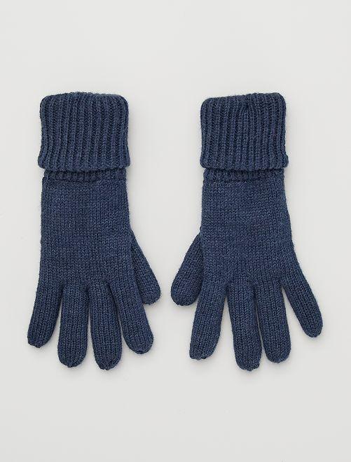 Paire de gants                                                     BLEU