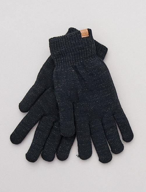 Paire de gants fourrés                                                     noir