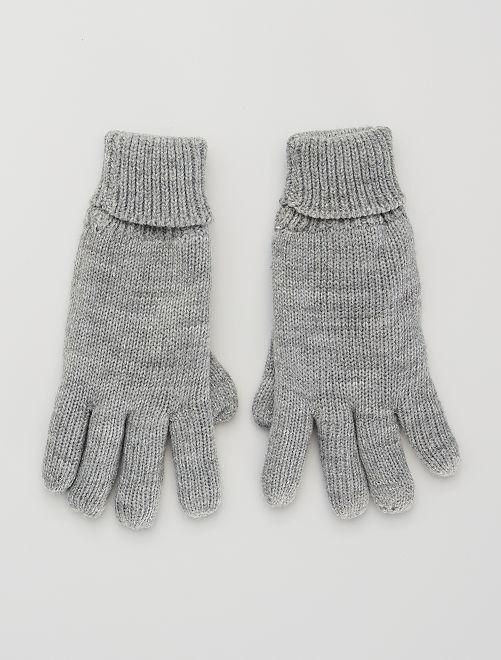 Paire de gants                                                     gris