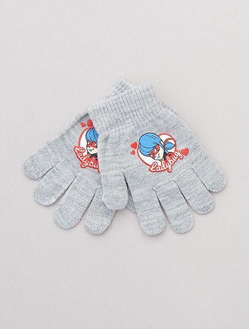 Paire de gants 'Miraculous'                                                                 gris