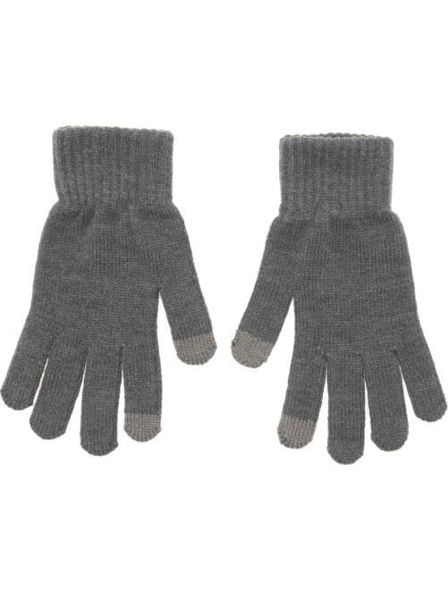 paire de gants tactiles homme gris kiabi 1 50. Black Bedroom Furniture Sets. Home Design Ideas