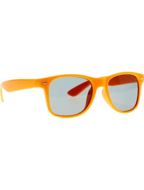 Paire de lunettes carrées                                                                                                      orange