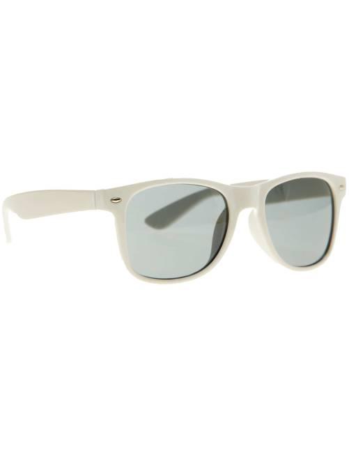 Paire de lunettes carrées                                                                                                                  blanc