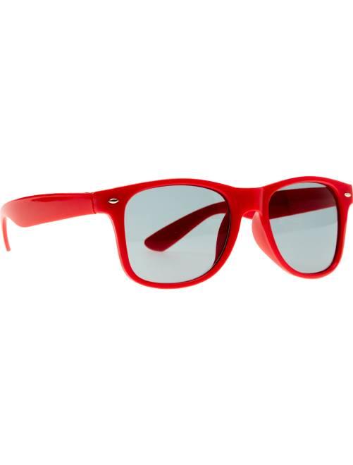 Paire de lunettes carrées                                                                                                      rouge