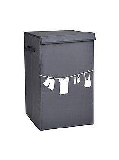 Maison Panier à linge tissu imprimé