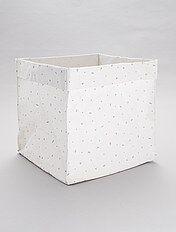 magasin en ligne 7f840 6cb64 Boîte de rangement pliable en tissu à petits prix Linge de ...