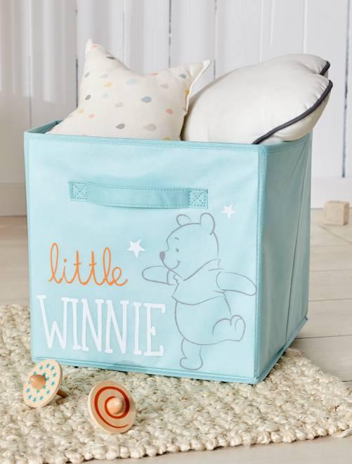 Panier de rangement pliable 'Winnie l'ourson'                             vert Bébé garçon