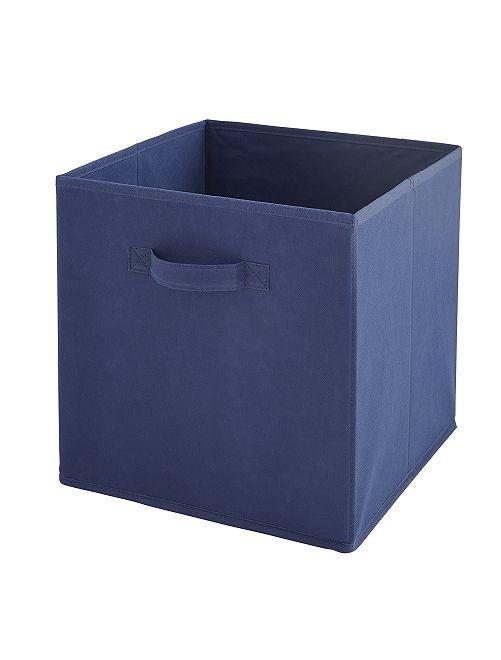 Panier intissé pliable                                                                                                                                         bleu