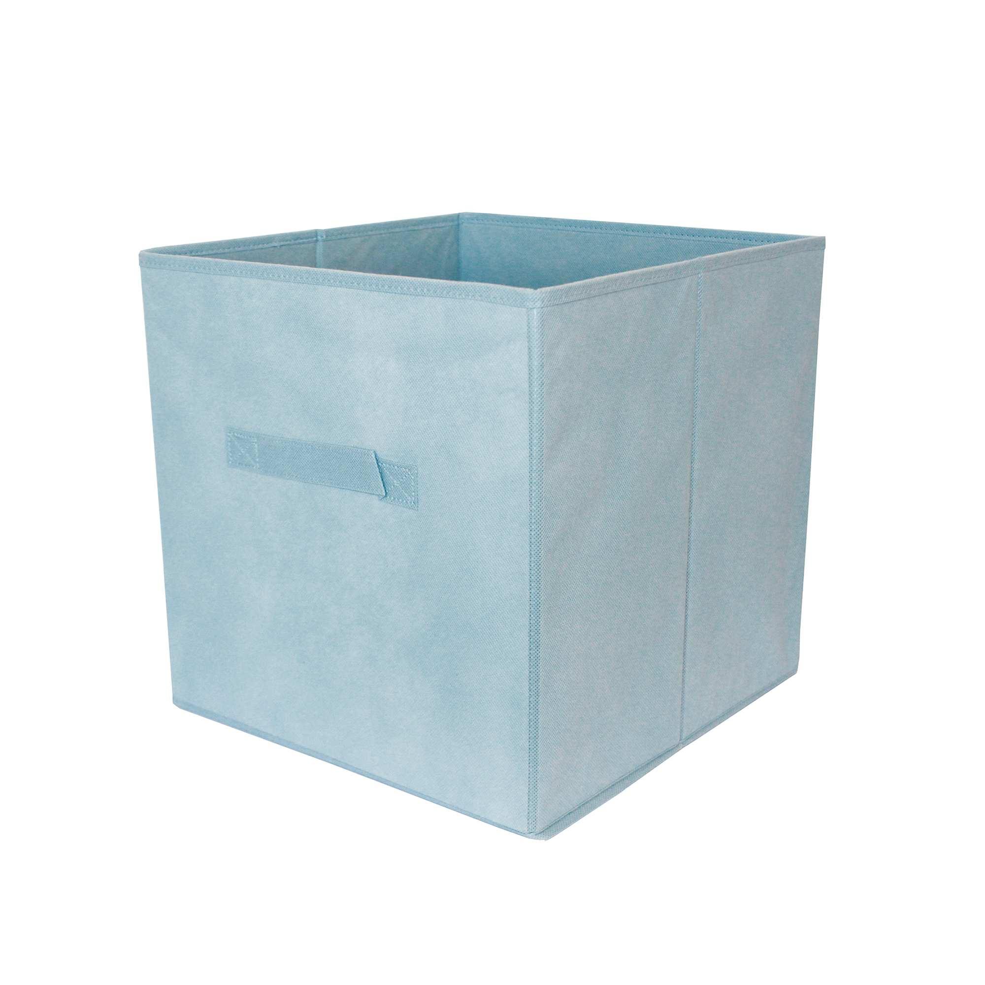 Panier pliable intiss linge de lit bleu ciel kiabi 4 00 - Ciel de lit bleu ...