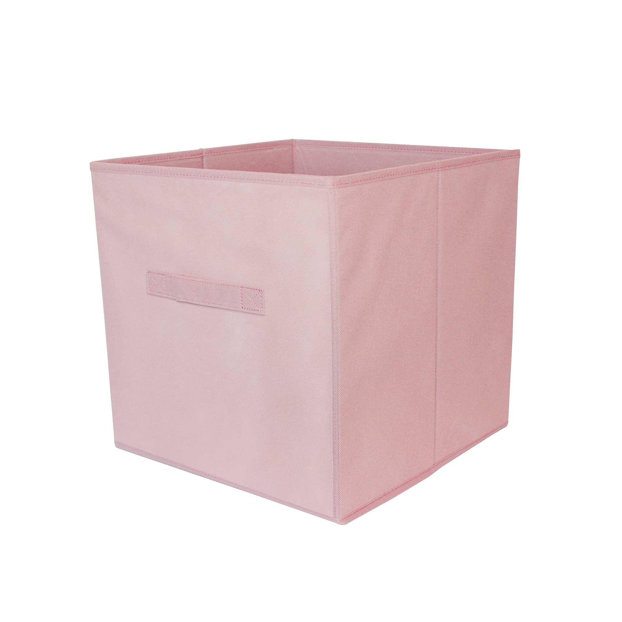 panier pliable intiss linge de lit rose p le kiabi 4 00. Black Bedroom Furniture Sets. Home Design Ideas