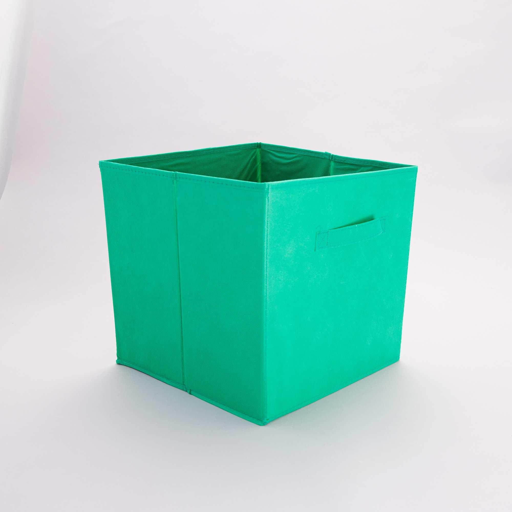 panier pliable intiss linge de lit vert emeraude kiabi 4 00. Black Bedroom Furniture Sets. Home Design Ideas