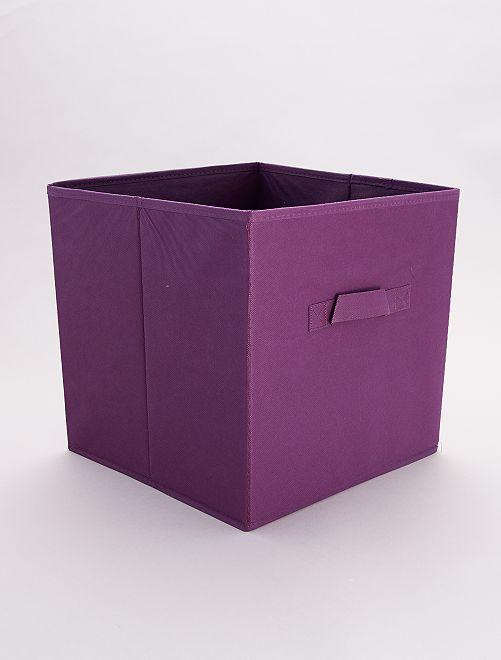 Panier pliable intissé                                                                                                                                                                                                                 violet
