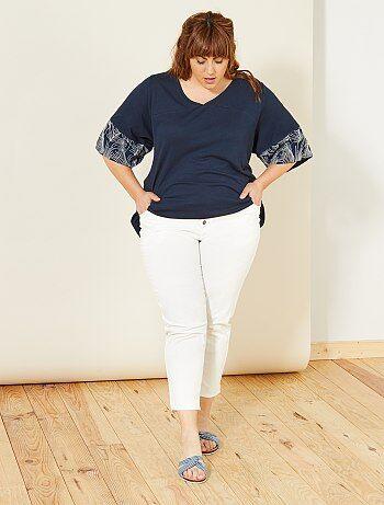 Short Short Short 56 56 56 56 Taille Grande Pantacourt Femme Kiabi OrAqOa7F