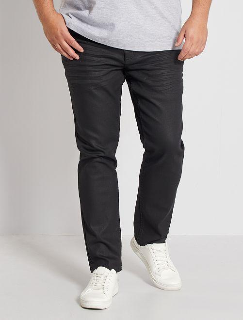 Pantalon 5 poches éco-conçu                             noir