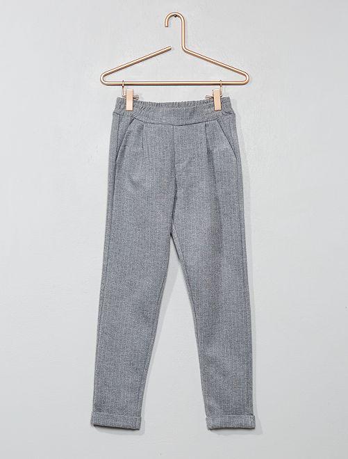 Pantalon à rayures                                                                 gris clair Fille