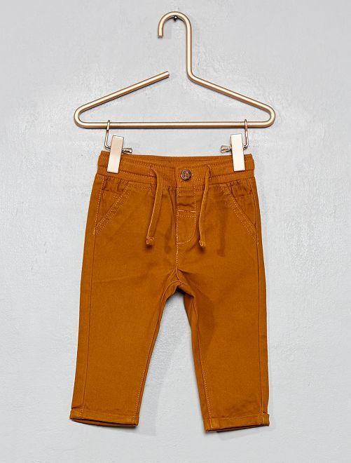 Pantalon avec cordons de serrage                                                                             jaune core