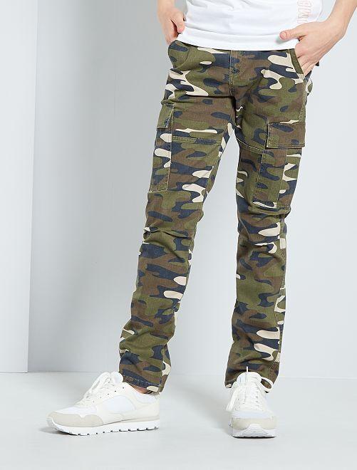 Pantalon battle camouflage                             camouflage