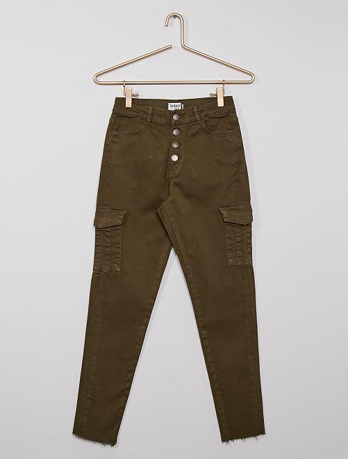 Pantalon battle éco-conçu                                                     KAKI
