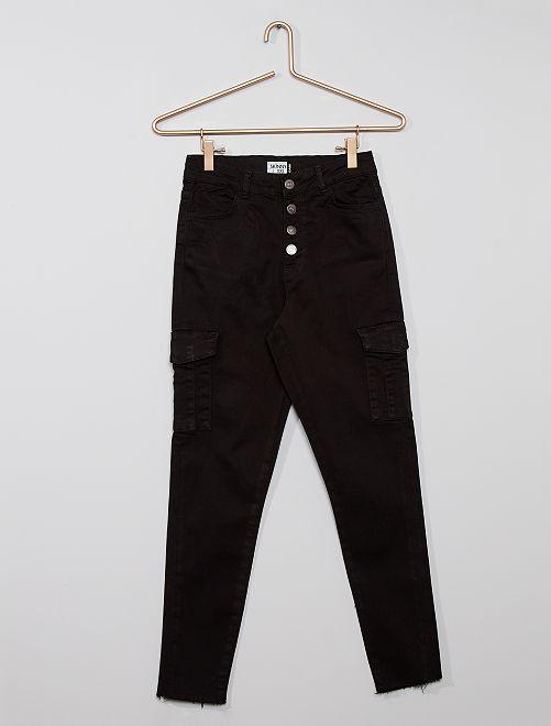 Pantalon battle éco-conçu                                                     noir