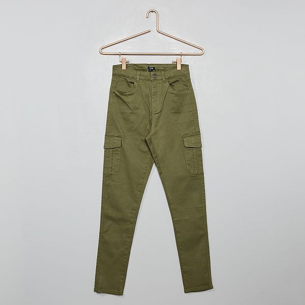Pantalon cargo skinny