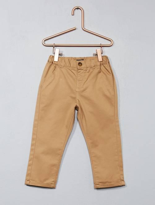 pantalon chino b b gar on beige kiabi 7 00. Black Bedroom Furniture Sets. Home Design Ideas