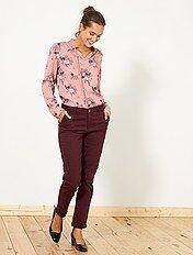 Pantalon chino coloré
