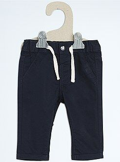 Pantalon, jean, legging - Pantalon chino coupe droite