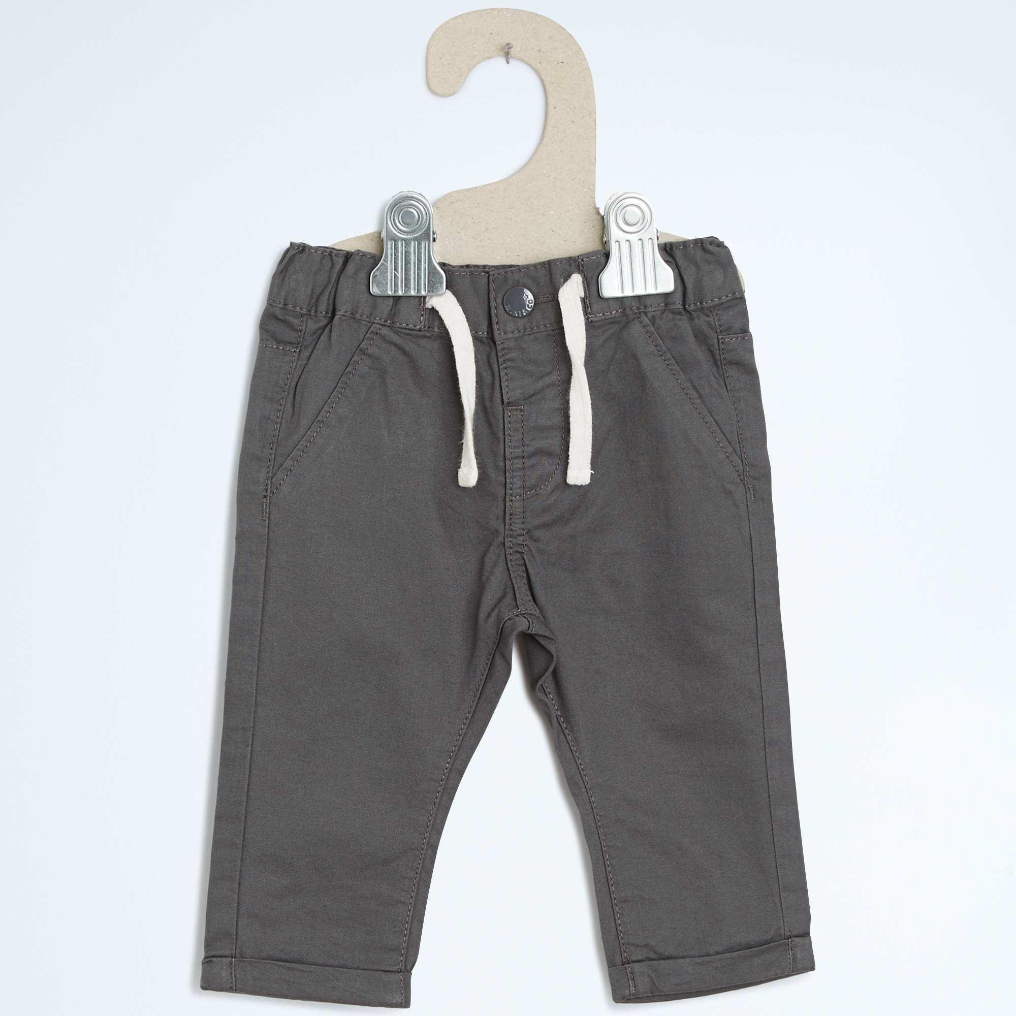 pantalon chino coupe droite b b gar on kiabi 7 00. Black Bedroom Furniture Sets. Home Design Ideas