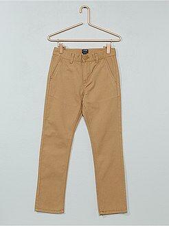 Garçon 3-12 ans Pantalon chino en twill