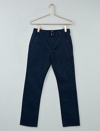 Pantalon chino en twill - Kiabi