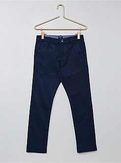 Pantalon chino en twill coupe slim - Kiabi