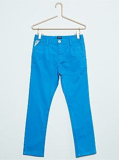 Pantalon chino en twill stretch