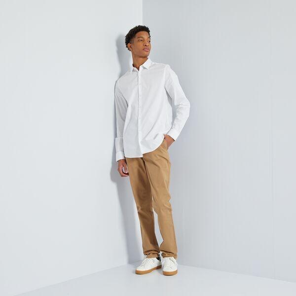 Pantalon chino fitted L36 +1m90
