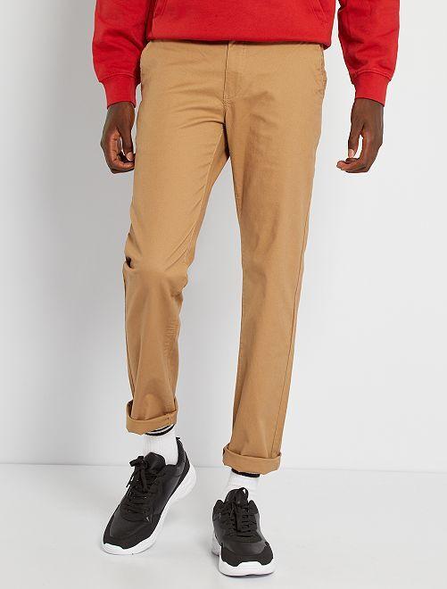 Pantalon chino L30                                                                 beige
