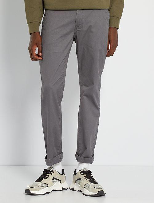 Pantalon chino L30                                                                 gris