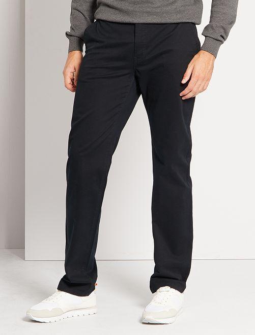 Pantalon chino L36 +1m90                                                                             noir