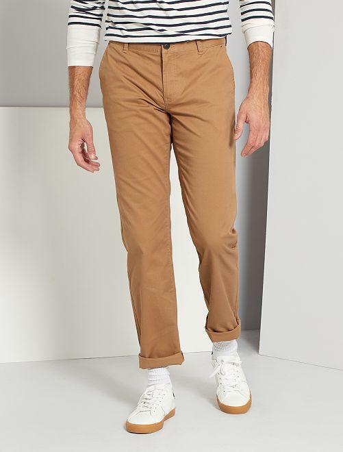 Pantalon chino L38 +1m95                                         beige