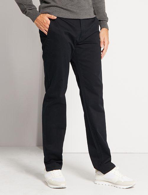 Pantalon chino L38 +1m95                                                                             noir