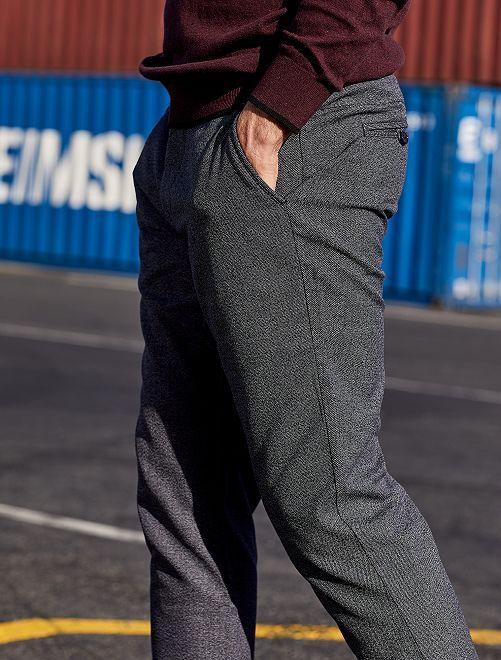 Pantalon chino                                                     noir/gris