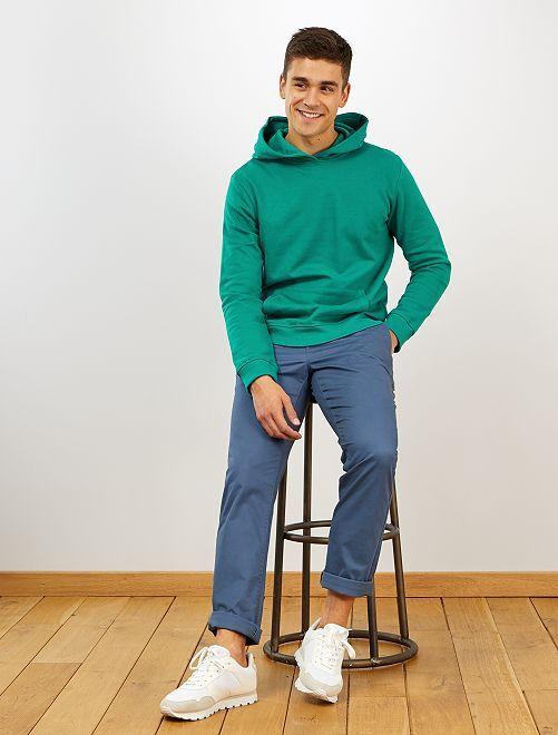 Pantalon chino regular                                             bleu gris