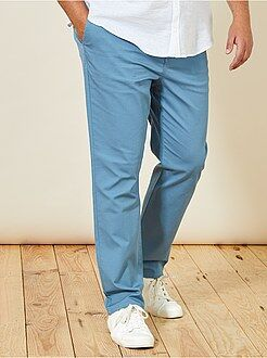 Pantalon casual - Pantalon chino regular en oxford - Kiabi