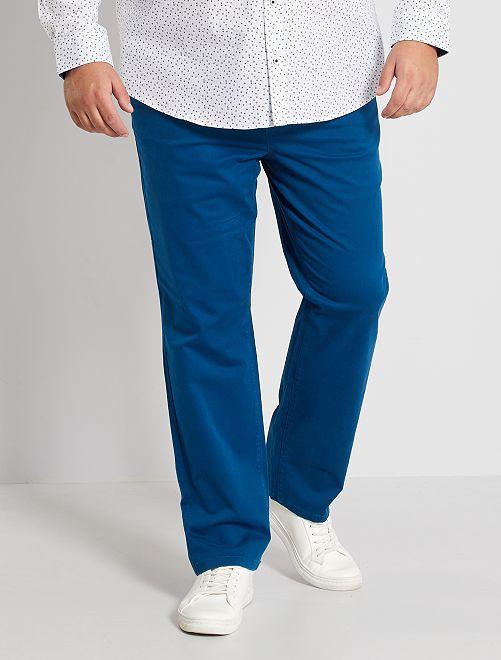 Pantalon chino regular L30                                                                             bleu