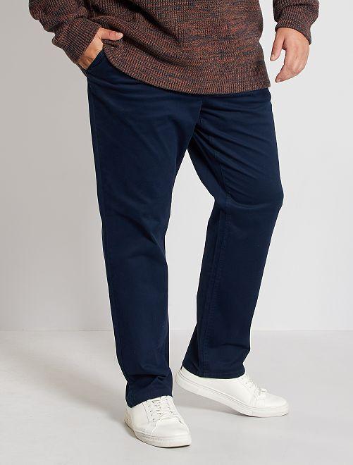 Pantalon chino regular L30                                                                             bleu marine