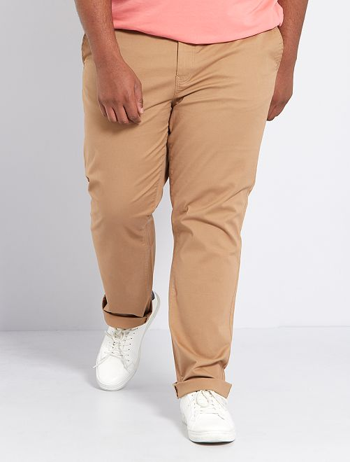 Pantalon chino regular L32                                                                             beige