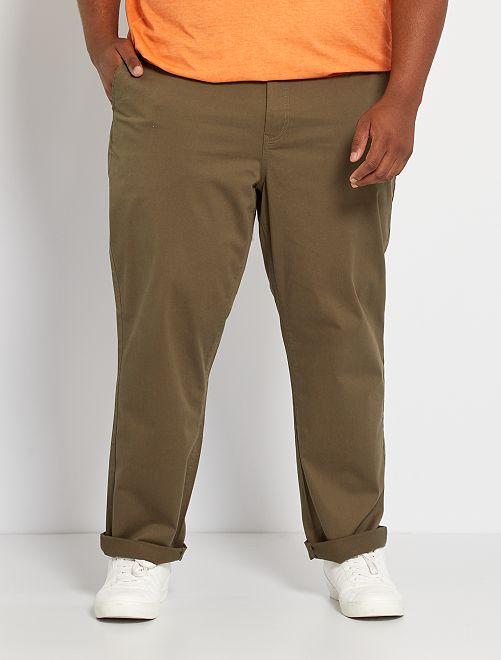 Pantalon chino regular L34                                                                                                     kaki
