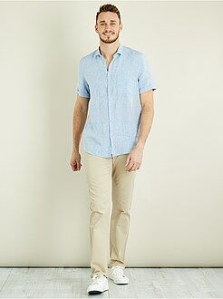 Pantalon casual - Pantalon chino regular pur coton L38 +1m90