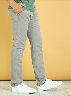 Homme du S au XXL Pantalon chino regular twill